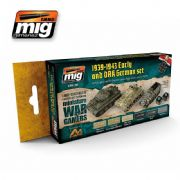WARGAME EARLY AND DAK GERMAN SET<br> A.MIG-7116